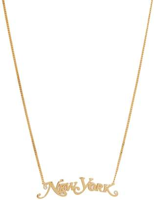 "Marc Jacobs The Nameplate NY"" necklace"