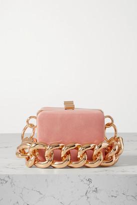 16Arlington Ralphie Mini Leather Tote - Pink