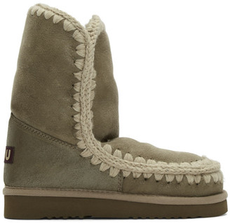 Mou Taupe 24 Mid-Calf Boots