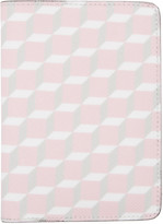 Pierre Hardy SSENSE Exclusive Pink Cube Passport Holder