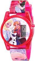 Disney Girl's Frozen FNFKD071 Plastic Quartz Watch