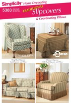 Simplicity Sewing Pattern 5383 Home Decorating, One