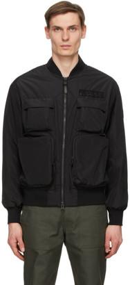 Mackage Black Down Baxter Bomber Jacket