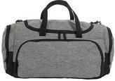 Fits Charcoal & Black Duffle Bag