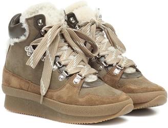 Isabel Marant Brendta suede ankle boots