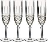 Marquis by Waterford 4-Piece Brady Crystal Flute Set