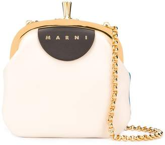 Marni Frame two-toned mini bag