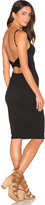 Rachel Pally Twist Back Bodycon Dress
