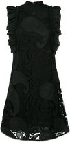 See by Chloe paisley crocheted dress - women - Cotton/Polyamide/Viscose - 38