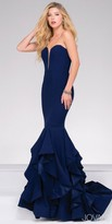 Jovani Sweetheart Plunging Neckline Mermaid Prom Dress