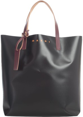Marni Pvc Tribeca Shopping Bag