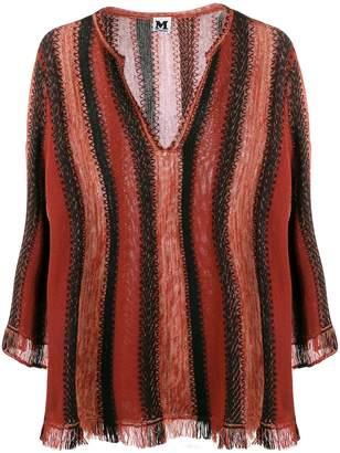M Missoni striped knit top