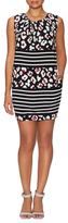 RED Valentino Printed Sheath Dress