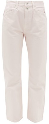 Proenza Schouler White Label Stovepipe Straight-leg Jeans - Womens - Light Pink