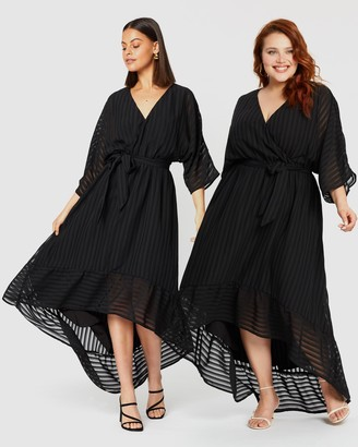 Atmos & Here Stella Georgette Midi Dress