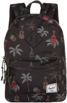 Herschel Heritage Ukulele Print Backpack, Black, One Size