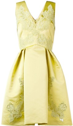 ZUHAIR MURAD embroidered flared dress