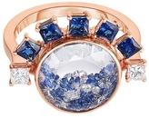 Moritz Glik Blue Sapphire Loose Diamond Sphere Ring