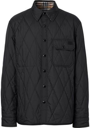 Burberry reversible Vintage-Check shirt jacket