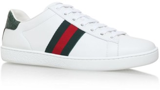 Gucci Leather New Ace Sneakers