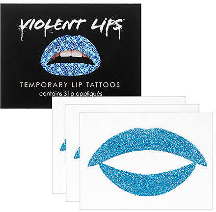 Violent Lips Temporary Lip Tattoos
