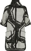 Raoul Jacquard-knit coat