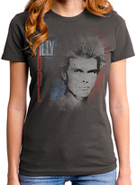 Goodie Two Sleeves Gray Billy Idol Don't Stop Relic Tee - Women