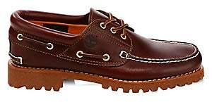 Timberland Men's Authentics Hand-Sewn Leather Boat Shoes