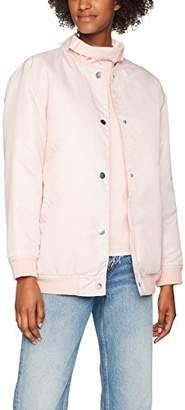 WÅVEN Women's Ra Bomber Jacket, (Blush Pink), 6