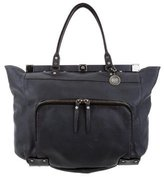 Lanvin Frame Leather Tote