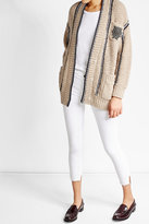 Brunello Cucinelli Wool Cardigan with Embellishment