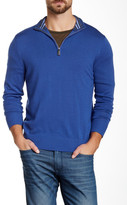 Tailorbyrd JHU Quarter Zip Wool Sweater