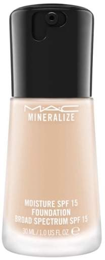 M·A·C MAC Mineralize Moisture Foundation Broad Spectrum Spf 15