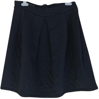 Petit Bateau Navy Cotton Skirt for Women