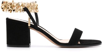 Gianvito Rossi Tebe 70mm leather sandals
