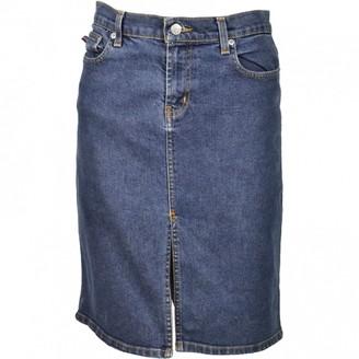 Polo Ralph Lauren Blue Cotton - elasthane Skirt for Women