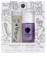 NAILMATIC NYC Lip Gloss & Nail Polish Duo