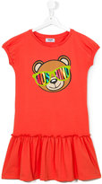 Moschino Kids - Teddy bear dress - kids - Cotton/Spandex/Elastane - 14 yrs