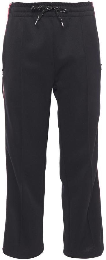 McQ Striped Jersey Track Pants