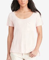 Polo Ralph Lauren Jersey Scoop Neck Pocket T-Shirt