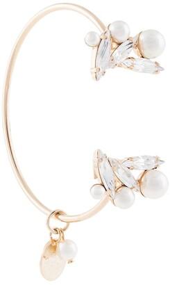 Anton Heunis Scleria open cuff bracelet