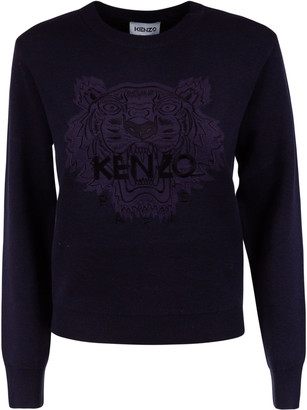 Kenzo Tiger Head Icon Jumper