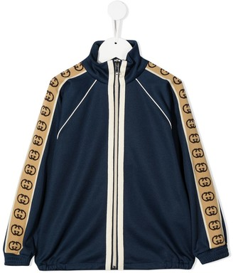 Gucci Kids GG-trim bomber jacket