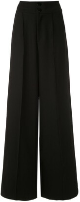 Tufi Duek Wide Leg Tailored Trousers