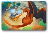 "Hzlswy Blastoise and Charizard - Pokemon Custom Doormat (23.6""x15.7"")"
