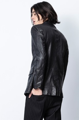 Zadig & Voltaire Valfried Crinkle Leather Jacket