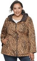 Details Plus Size Reversible Anorak Jacket