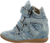 Isabel Marant Denim Beckett Sneakers