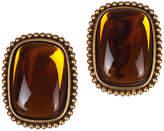 One Kings Lane Vintage YSL Orange Lucite Earrings
