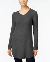 Style&Co. Style & Co. Waffle-Knit Tunic Sweater, Only at Macy's